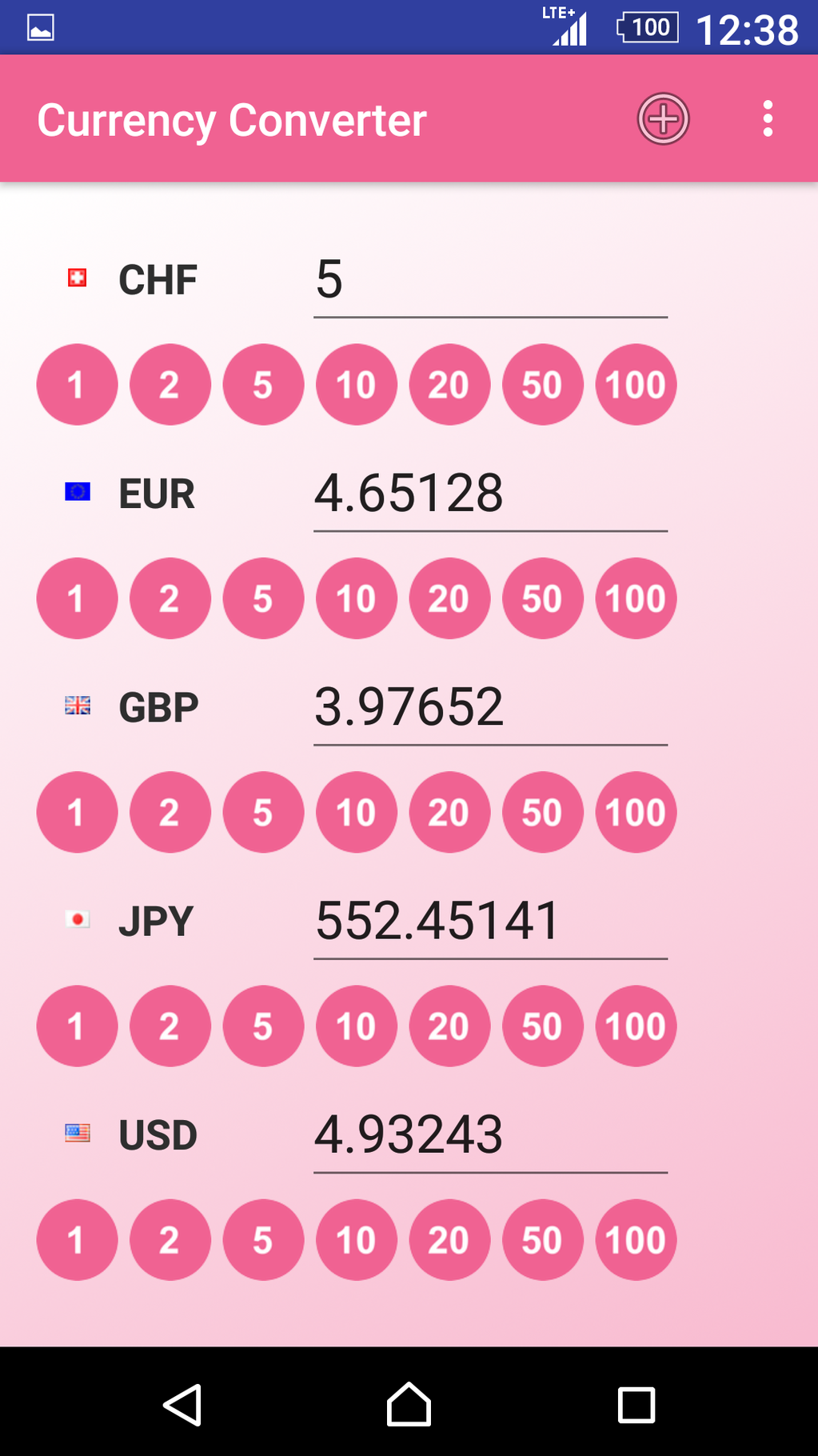 Currency Converter App Screenshot 4