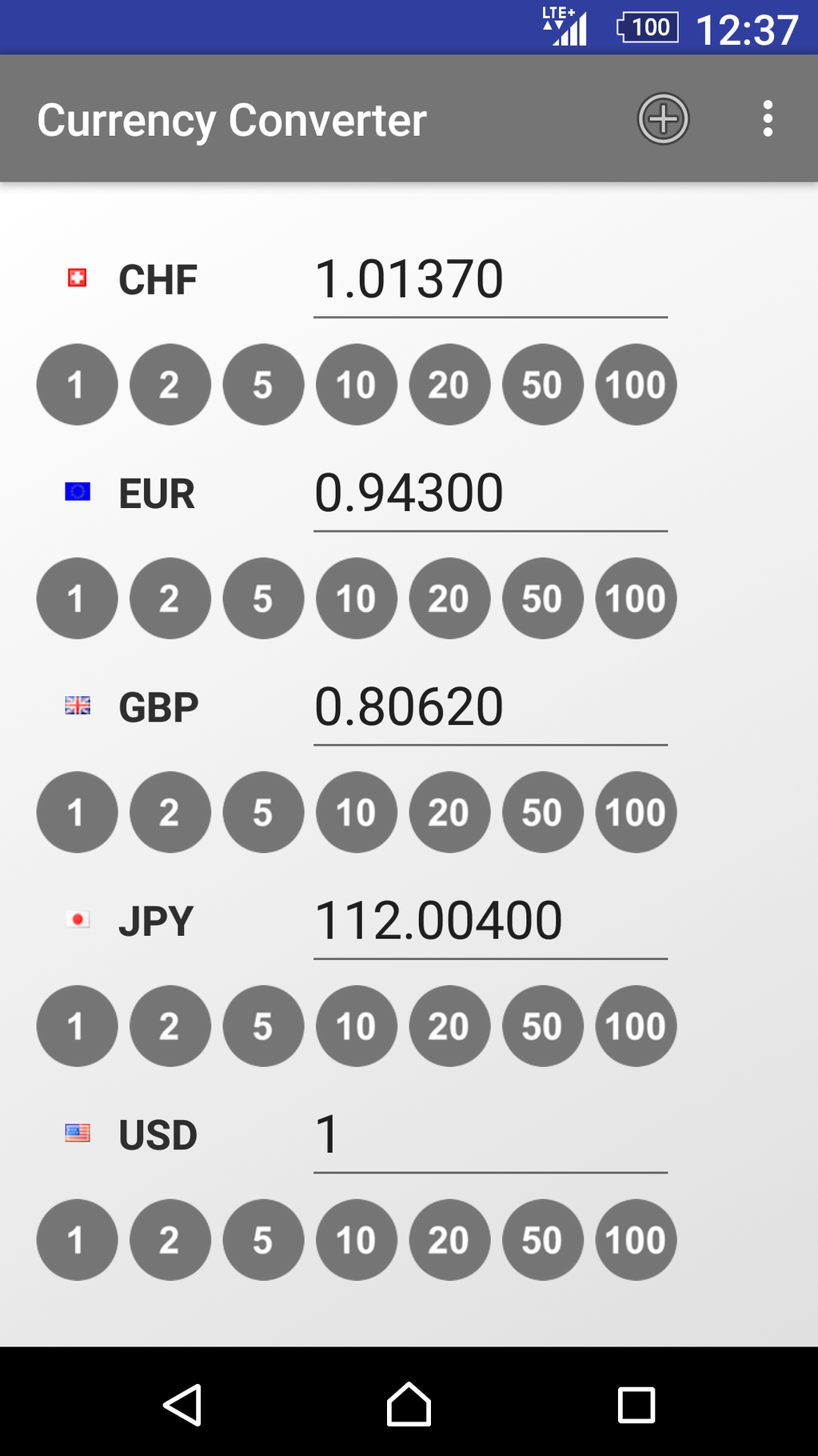 Currency Converter App Screenshot 6