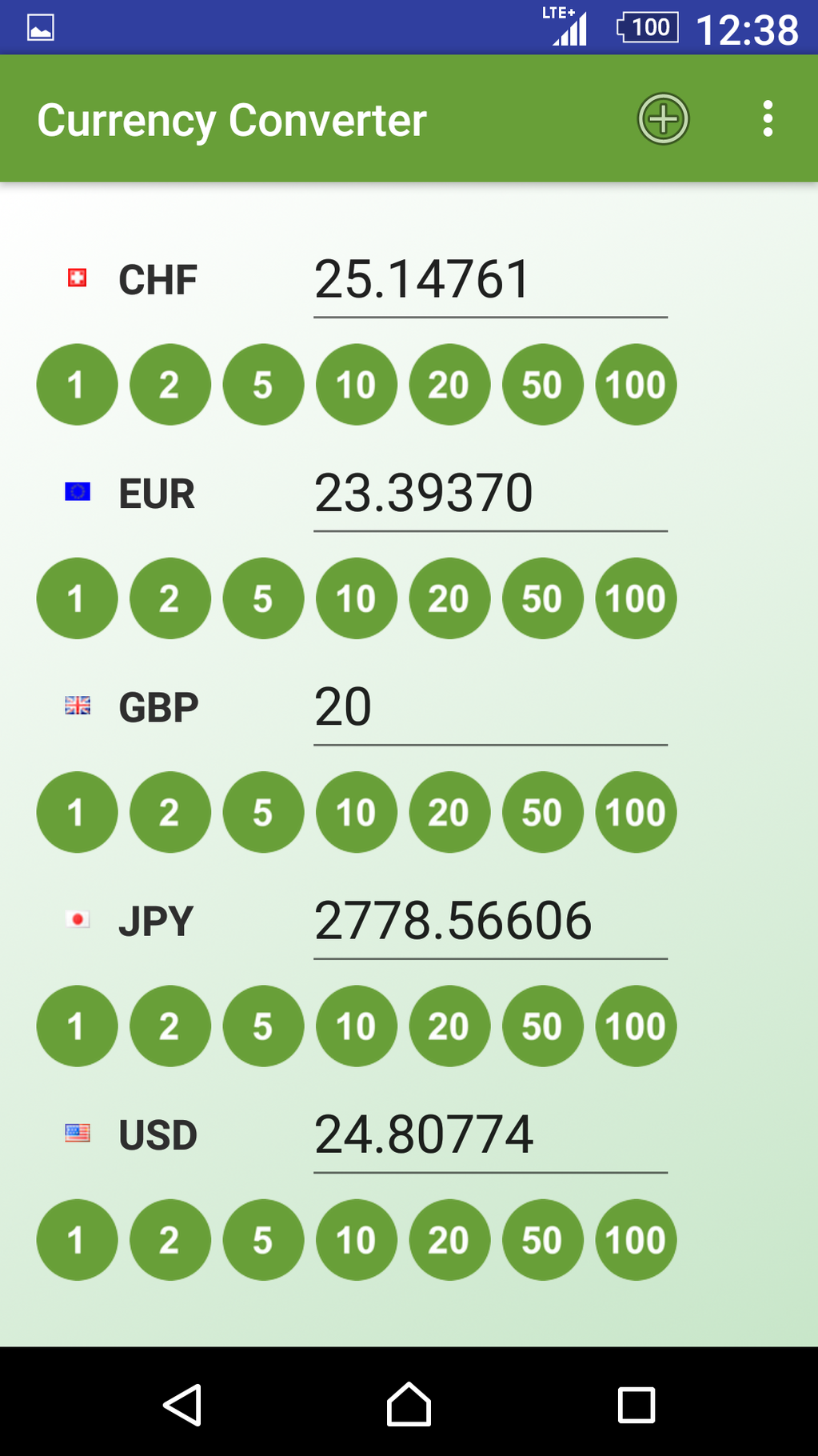 Currency Converter App Screenshot 5