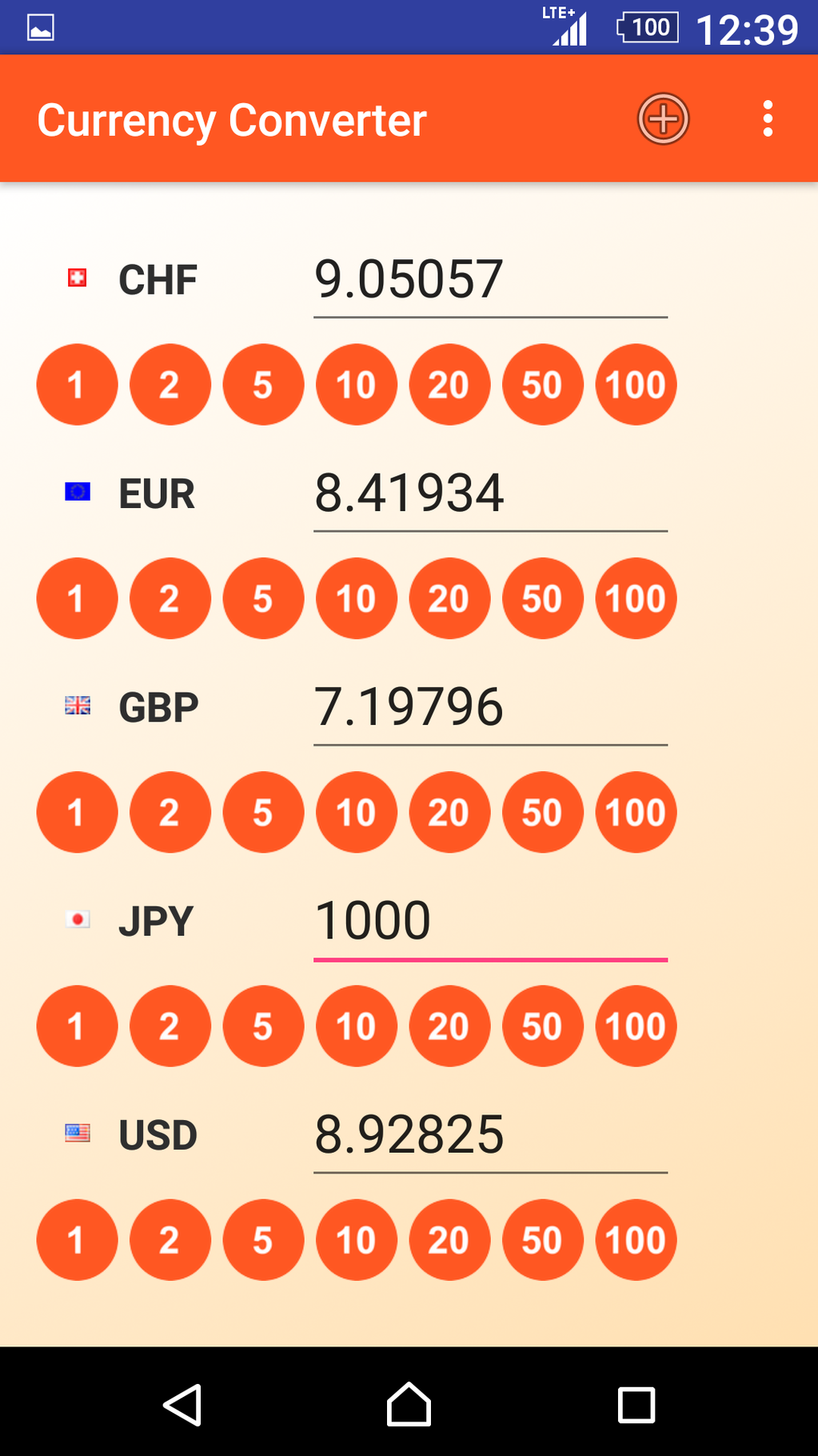 Currency Converter App Screenshot 3