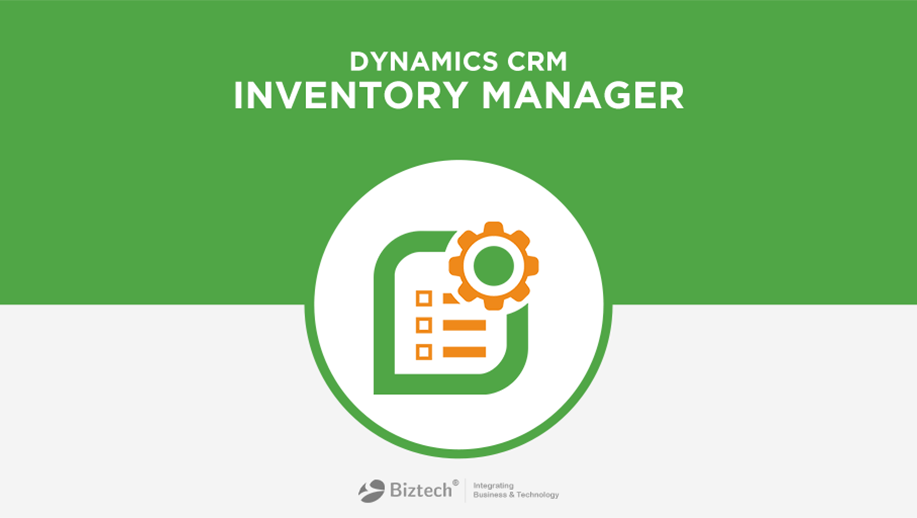 Dynamics CRM Inventory Manager Screenshot