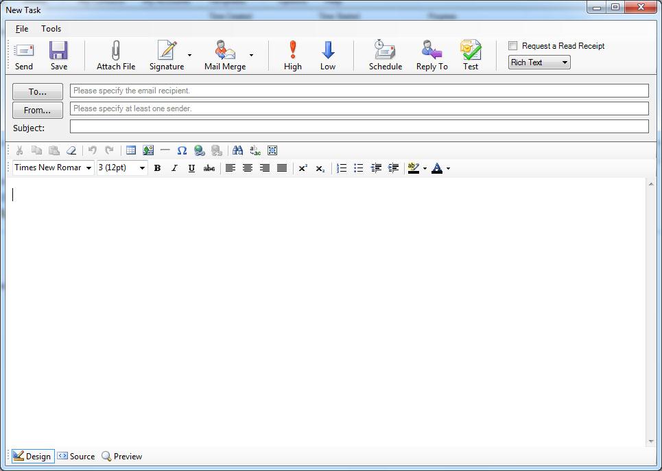 Emailsaler Bulk Email Sender Screenshot 3