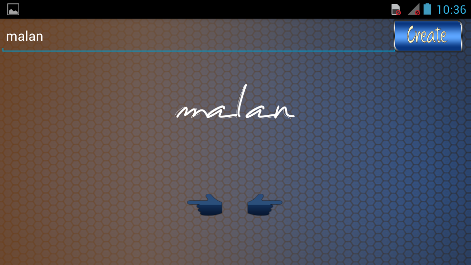 Virtual Signature Maker Screenshot 2