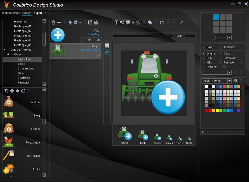 Colibrico Design Studio Screenshot