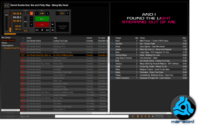 PCDJ Karaoki Screenshot