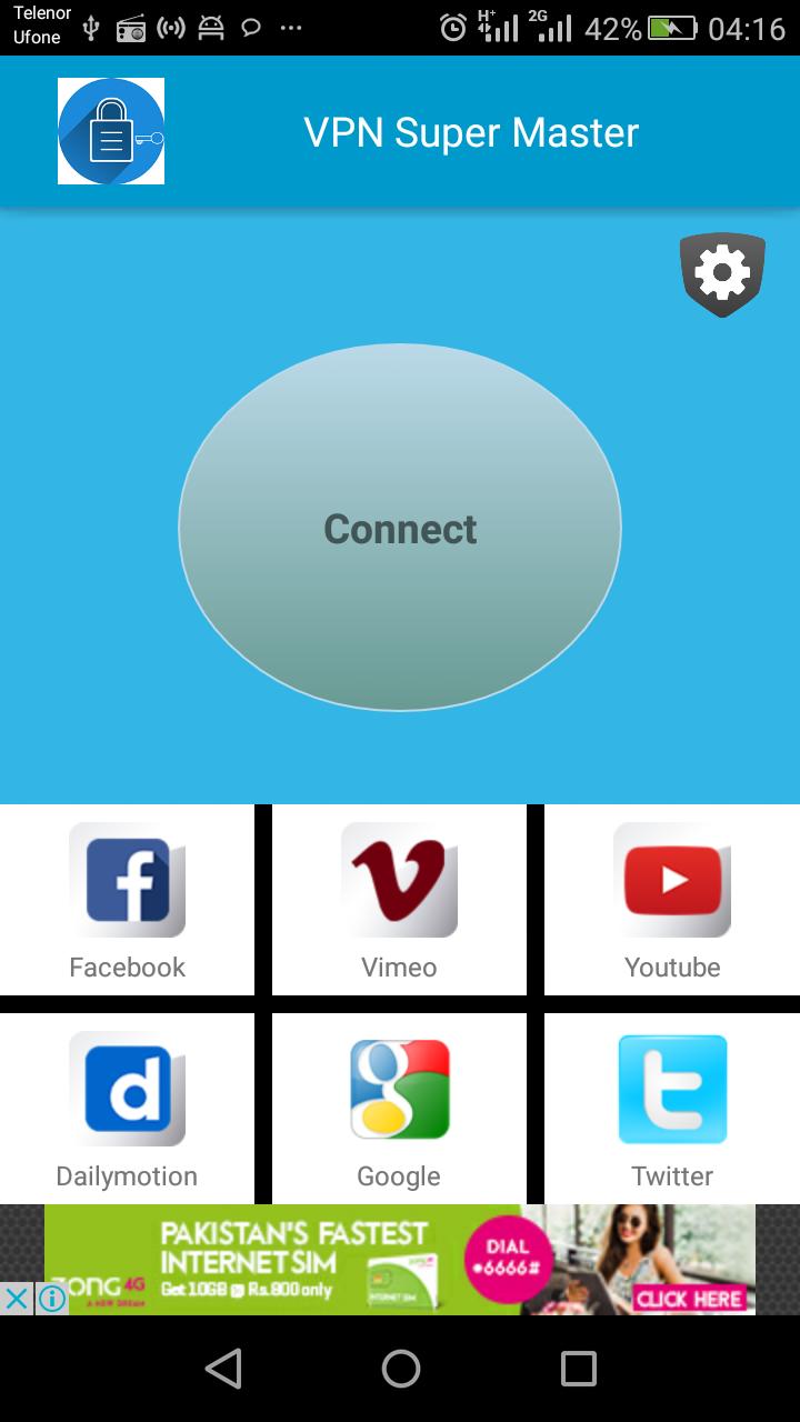 VPN Super Master Unblock Sites Screenshot 2