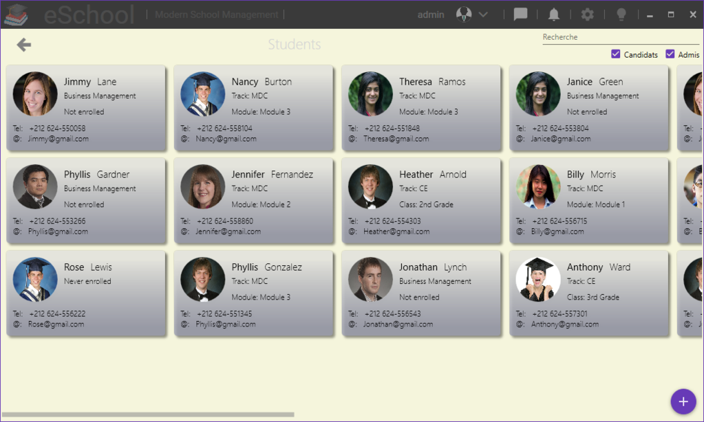 eSchool Screenshot 1