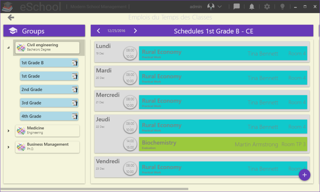 eSchool Screenshot 5