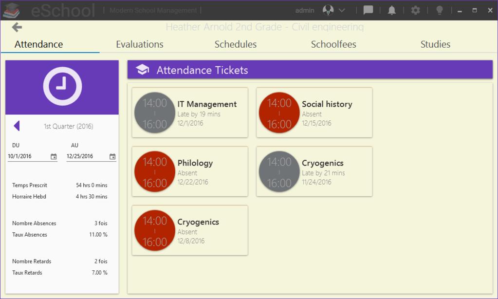 eSchool Screenshot 4