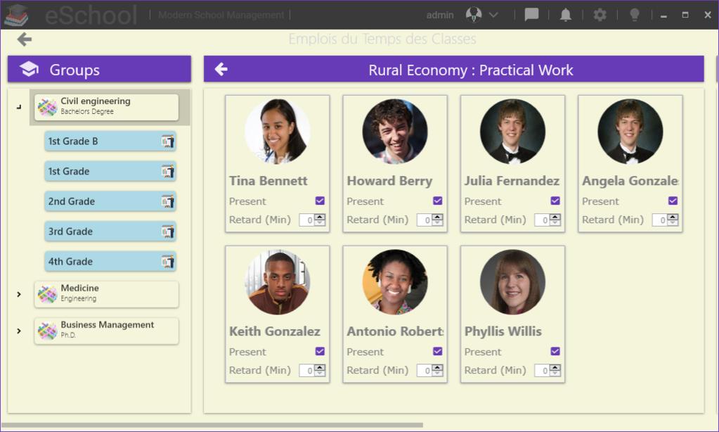 eSchool Screenshot 6