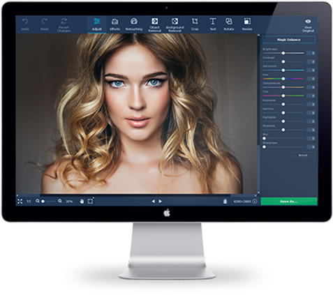 Movavi Photo Editor for Mac Screenshot 1