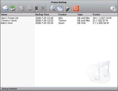 Cucusoft iTunes Transfer Screenshot