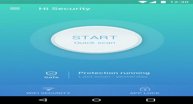 Hi Security Screenshot 1