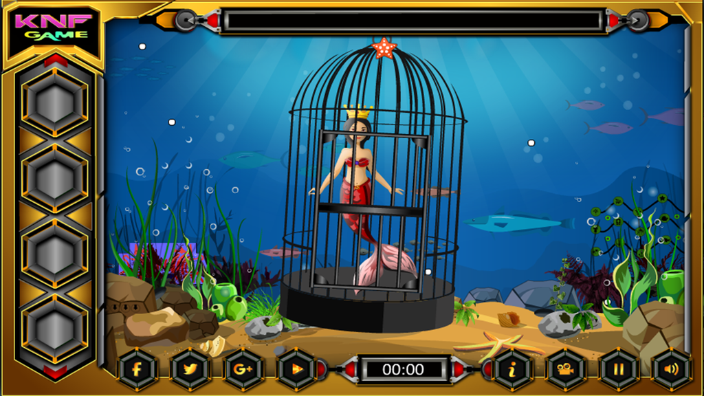 Mermaid Escape From SeaShore Screenshot