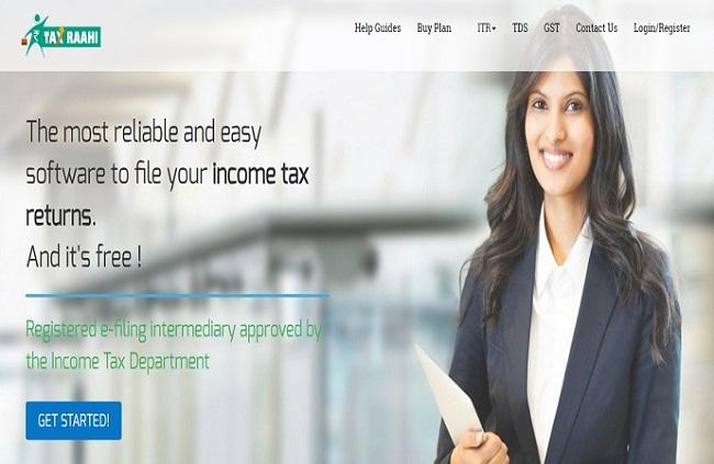 TaxRaahi ITR Screenshot