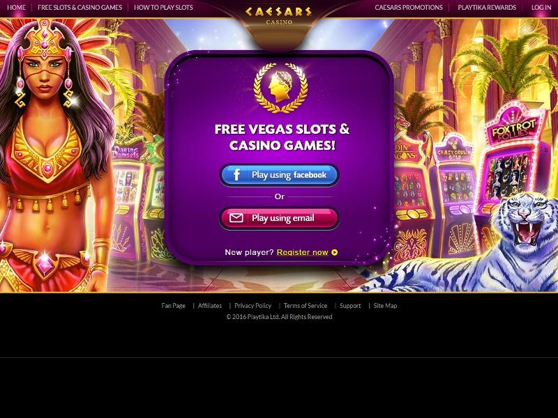 Caesars Games Screenshot