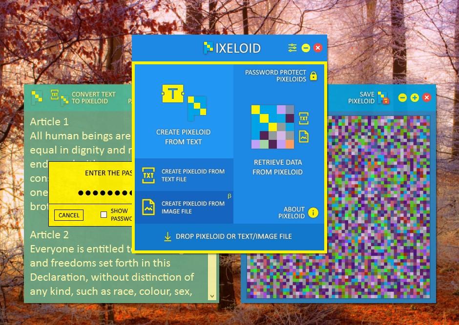 Pixeloid Screenshot 1