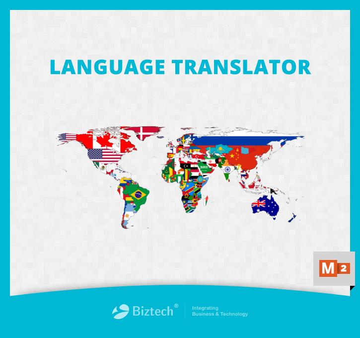 Magento 2 Language Translator Extension Screenshot