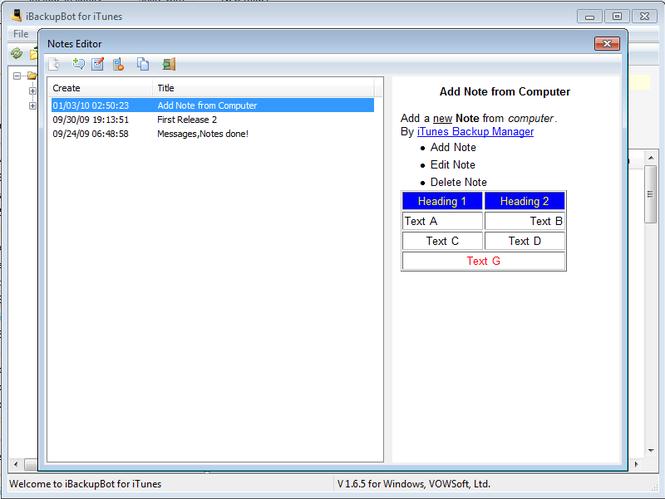 iBackupBot for Mac Screenshot 2