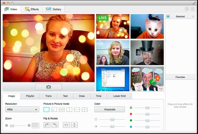 ManyCam for Mac Screenshot 1