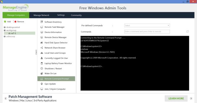 Free Windows Admin Tools Screenshot 2