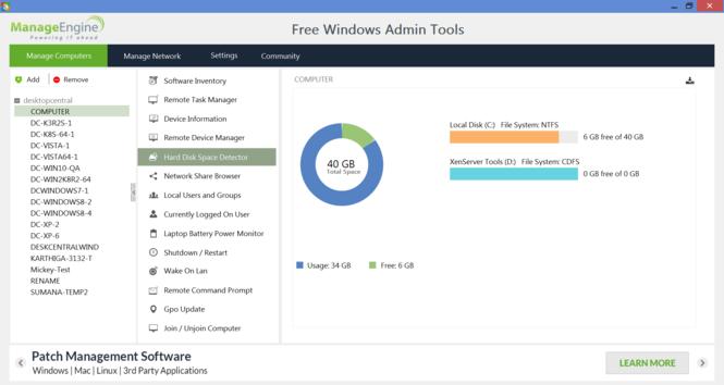 Free Windows Admin Tools Screenshot 3