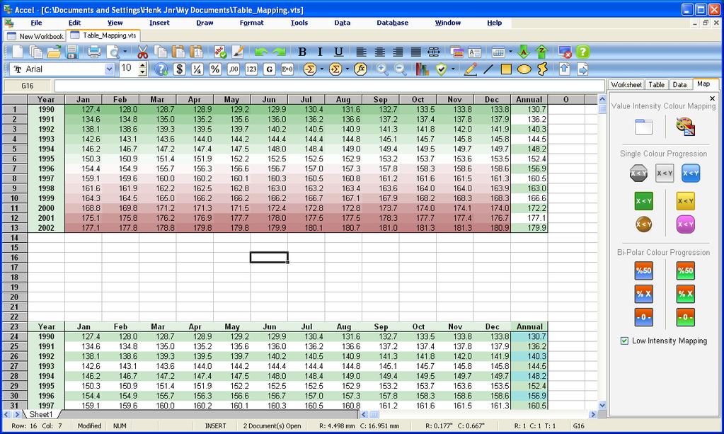 SSuite Accel Spreadsheet Screenshot 2