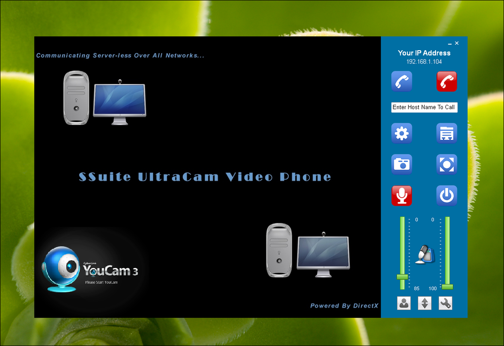 SSuite UltraCam Video Phone Screenshot