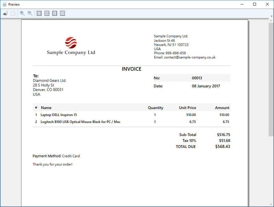 Marvelous ... Simple Invoice 4  Simple Invoice