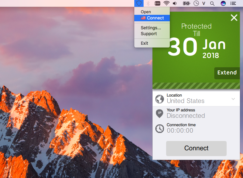 Free VPN & Proxy by Seed4.Me on MacOS Screenshot 3
