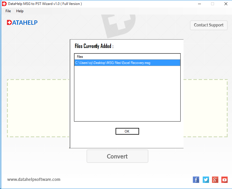 MSG to PST Converter Screenshot 4
