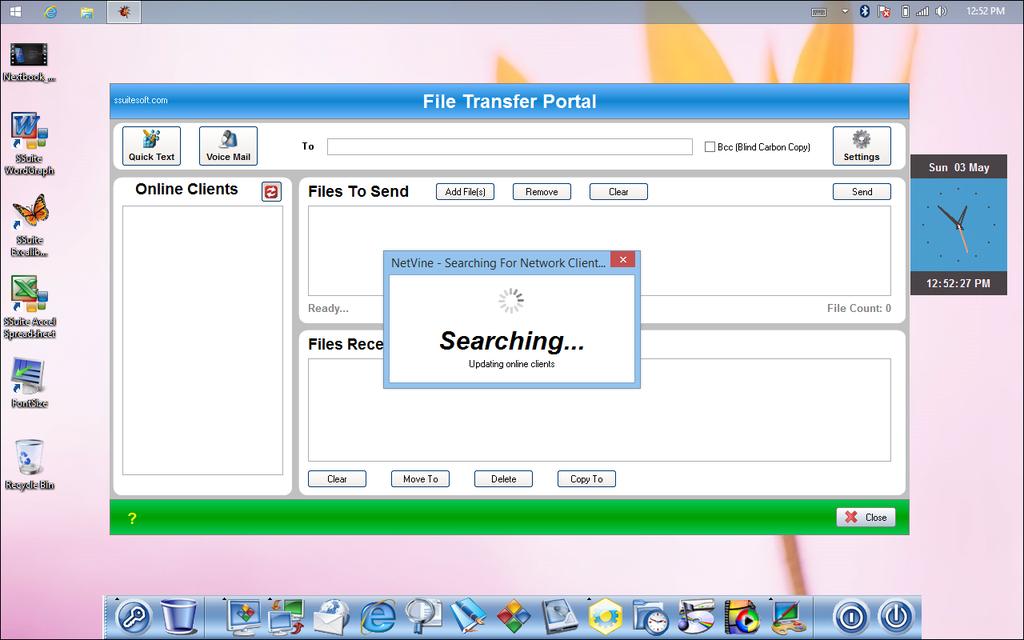 SSuite NetVine LAN Suite Screenshot 2