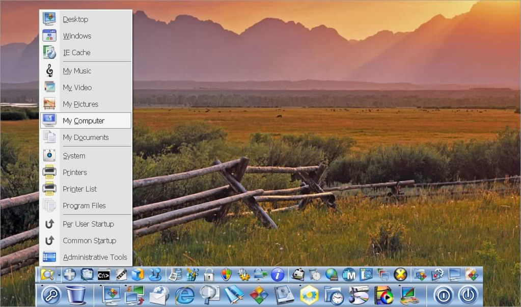 SSuite Mac Dock Screenshot