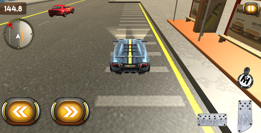 Fast City Car Racing 3D Screenshot 3