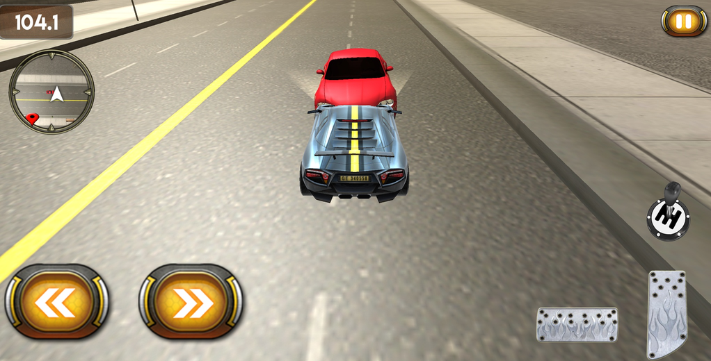 Fast City Car Racing 3D Screenshot 1
