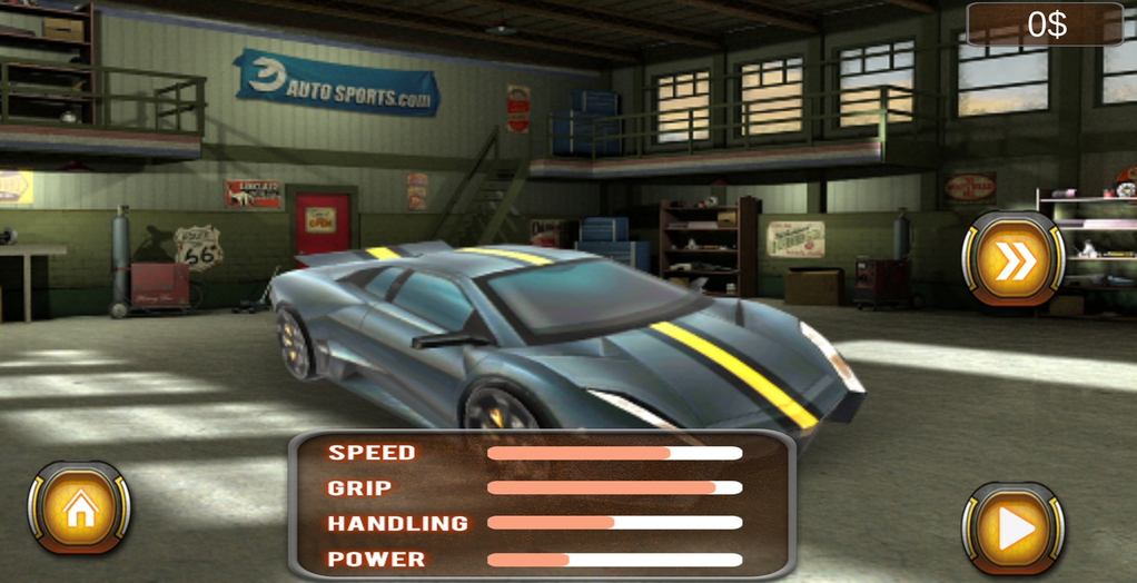 Fast City Car Racing 3D Screenshot 2