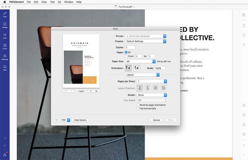 Wondershare PDFelement for Mac 4