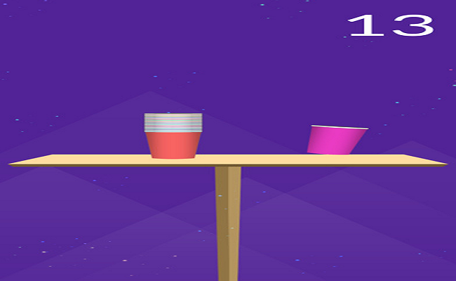 Cup Toss - Addictive Sliding Game Screenshot