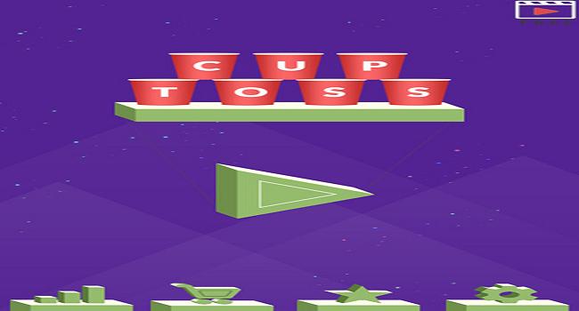 Cup Toss - Addictive Sliding Game Screenshot 2