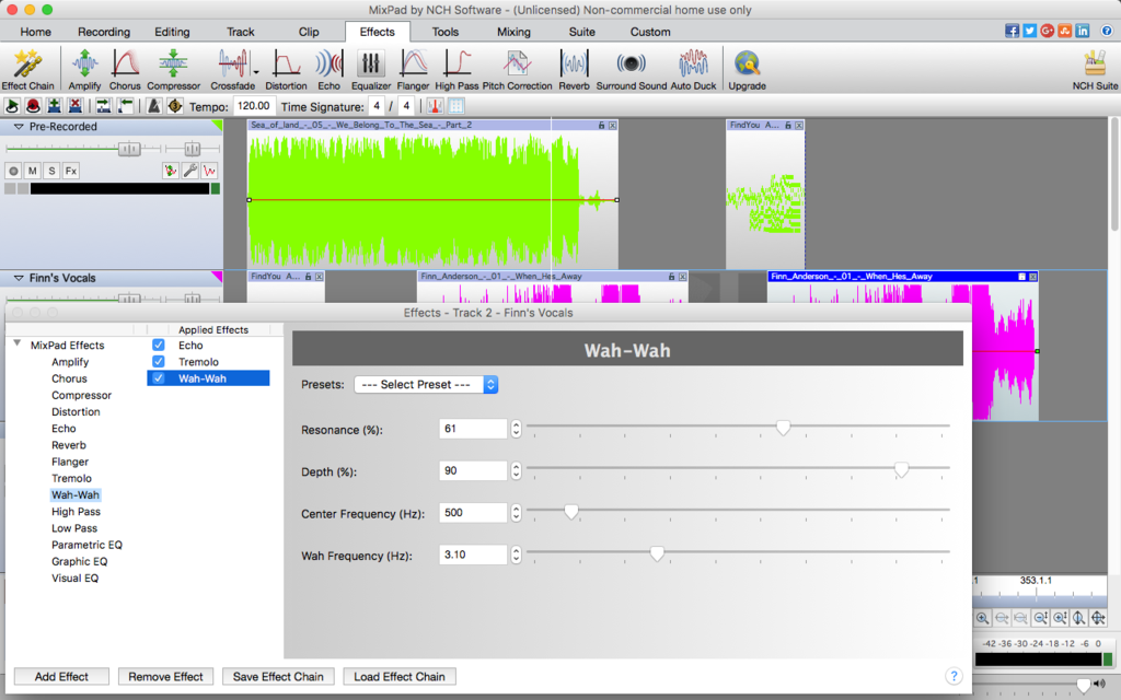 MixPad Free Music Mixer and Studio Recorder Screenshot 6