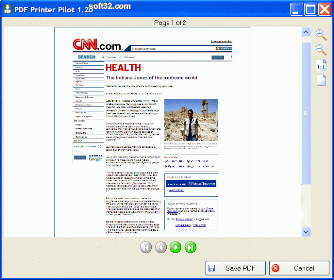 Free PDF Printer Pilot Screenshot 2