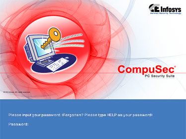 FREE CompuSec Screenshot 1