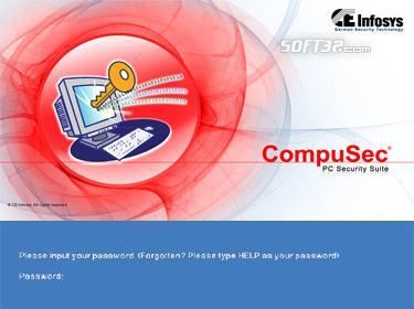 FREE CompuSec Screenshot 3