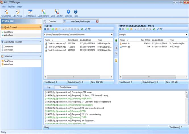 Auto FTP Manager Screenshot 1