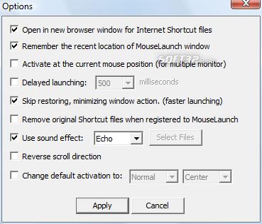 MouseLaunch Screenshot 4
