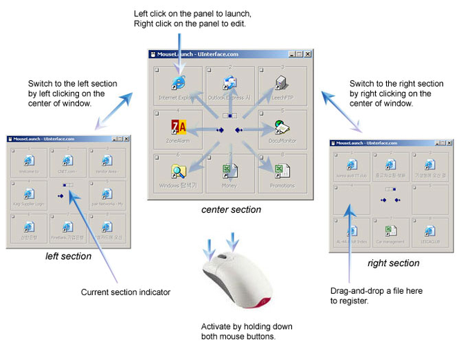 MouseLaunch Screenshot 1