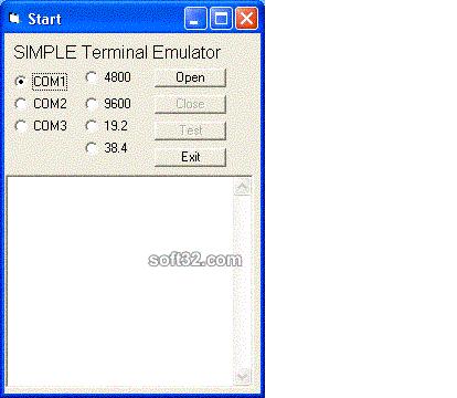 Win/CE Std Serial Comm Lib for eVB Screenshot 2