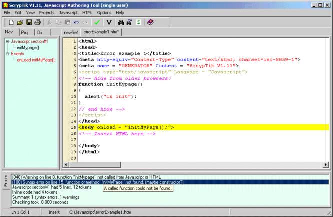 ScrypTik Screenshot