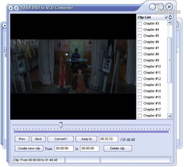 YASA DVD to VCD Converter Screenshot 2