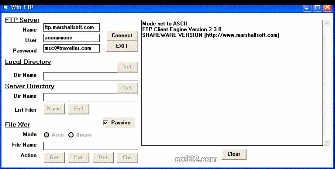 Download FTP Client Engine for C/C++ 3 2